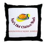 Vusis Hot Chicken Throw Pillow