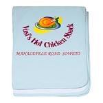 Vusis Hot Chicken baby blanket