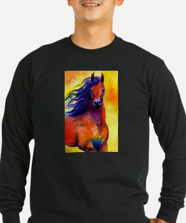 arabian 1 flat Long Sleeve T-Shirt