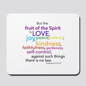Fruits of the Spirit Mousepad