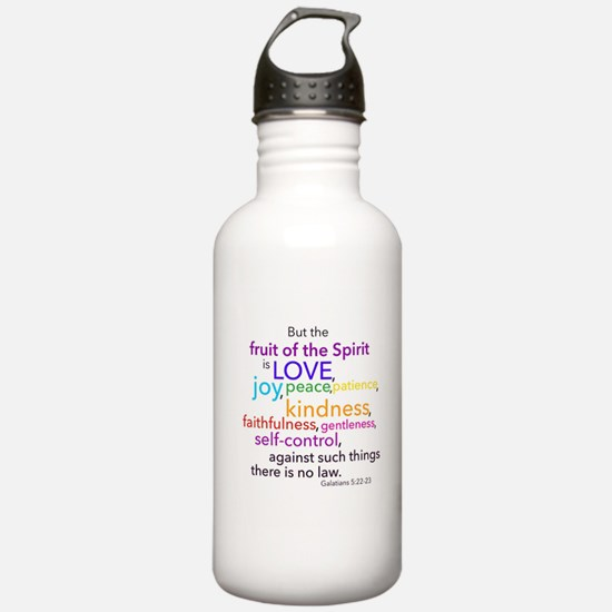 Fruits of the Spirit Water Bottle