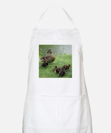 Duck mom and Ducklings Apron