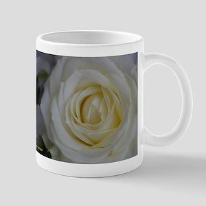 white rose photo Mug