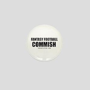 """""""COMMISH"""" Mini Button"""