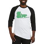 Slime Logo Baseball Jersey