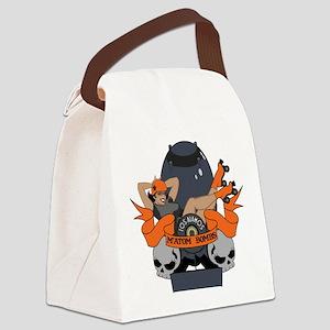 Matom Bombs Logo Canvas Lunch Bag