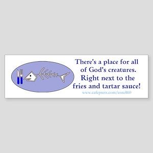 God's Creatures - (bumper) Bumper Sticker