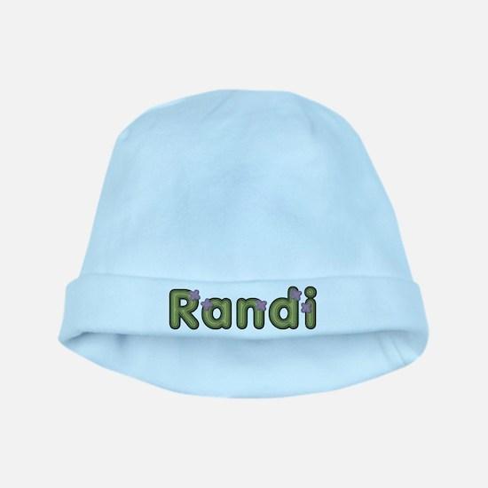 Randi Spring Green baby hat