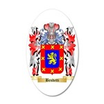 Bendetti 35x21 Oval Wall Decal