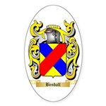 Bendall Sticker (Oval 50 pk)
