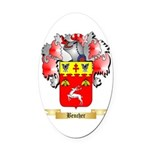 Bencher Oval Car Magnet