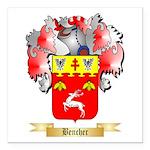 Bencher Square Car Magnet 3
