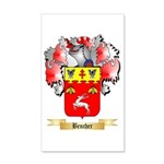 Bencher 20x12 Wall Decal