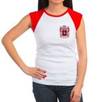 Benazat Women's Cap Sleeve T-Shirt