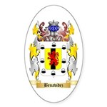 Benavidez Sticker (Oval 50 pk)