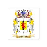 Benavides Square Sticker 3