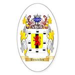 Benavides Sticker (Oval 50 pk)