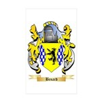 Benard Sticker (Rectangle 10 pk)