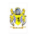 Benard Sticker (Rectangle 50 pk)