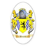 Benard Sticker (Oval 10 pk)