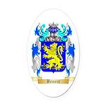 Bement Oval Car Magnet