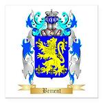 Bement Square Car Magnet 3