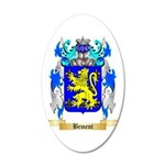 Bement 20x12 Oval Wall Decal
