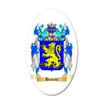 Bement 35x21 Oval Wall Decal