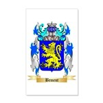 Bement 35x21 Wall Decal