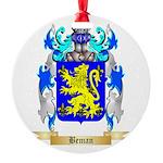 Beman Round Ornament