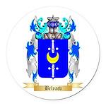 Belyaev Round Car Magnet