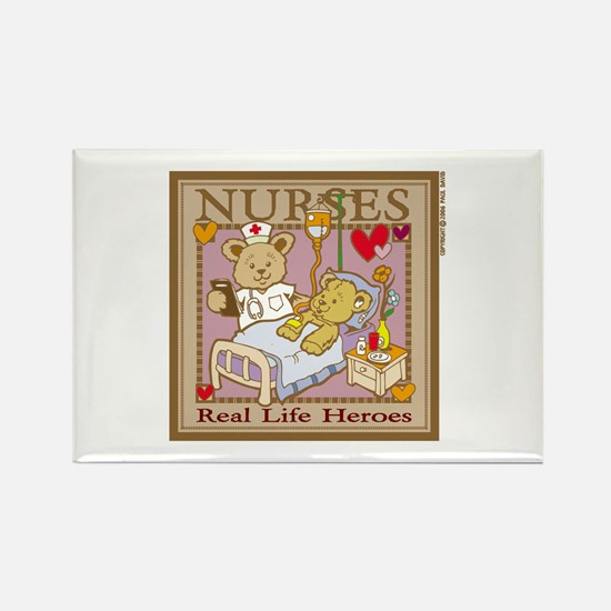 Nurse Bear Magnets