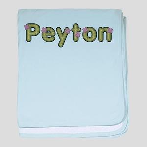 Peyton Spring Green baby blanket