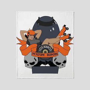 Matom Bombs Logo Throw Blanket