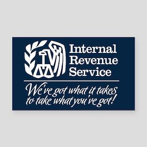 IRS Parody Rectangle Car Magnet