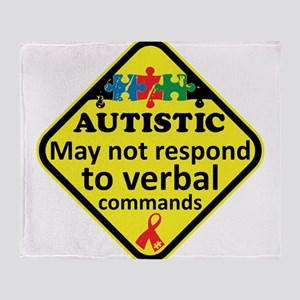 Autistic Throw Blanket