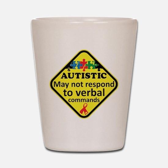 Autistic Shot Glass