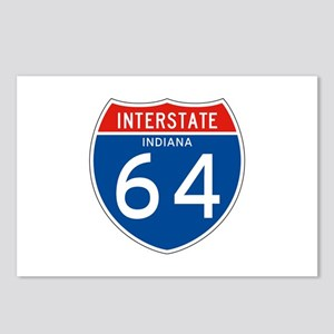 Interstate 64 - IN Postcards (Package of 8)