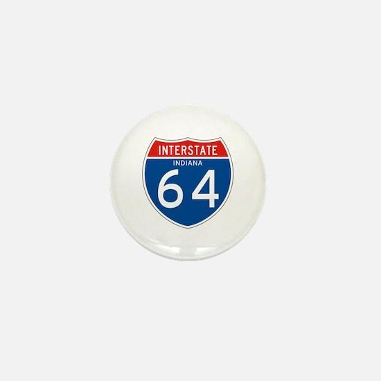 Interstate 64 - IN Mini Button