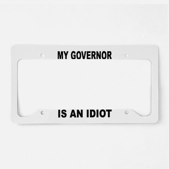 COLORADO IDIOT License Plate Holder
