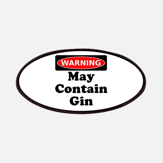 Warning May Contain Gin Patches