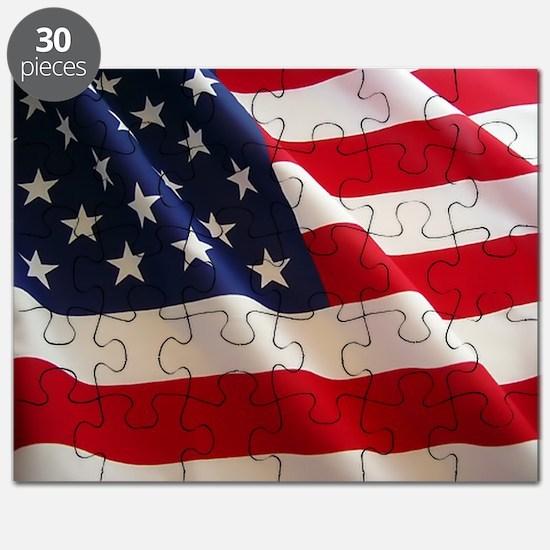 American Flag - Patriotic USA Puzzle