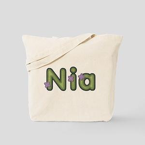 Nia Spring Green Tote Bag