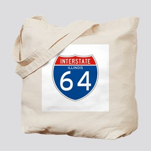Interstate 64 - IL Tote Bag