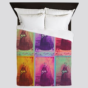 Florence Nightingale Colors Queen Duvet