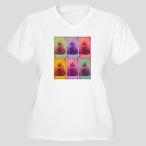 Florence Nightingale Colors Women's Plus Size V-Ne