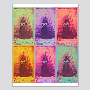 Florence Nightingale Colors Small Poster