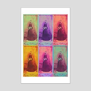 Florence Nightingale Colors Mini Poster Print