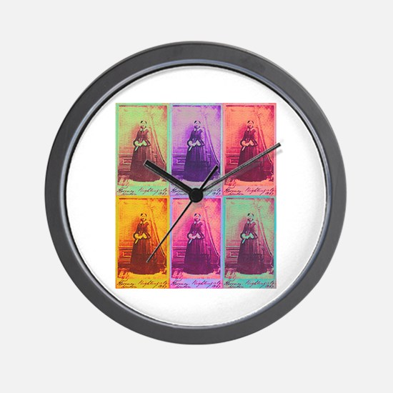 Florence Nightingale Colors Wall Clock