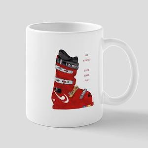 ski boot Mug